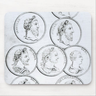 Portraits of Roman Emperors Mouse Mat