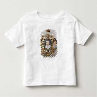 Portraits of unknown man and woman, c.1590 toddler T-Shirt