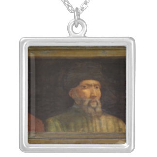 Portraits Silver Plated Necklace