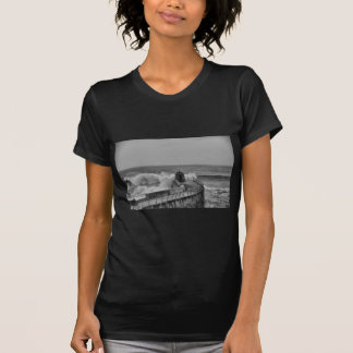 portreath black and white T-Shirt