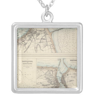 Ports and Harbours on the East Coast of England Silver Plated Necklace