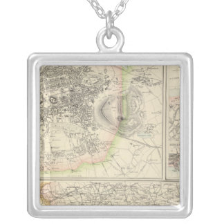 Ports and Harbours On The East Coast of Scotland Silver Plated Necklace