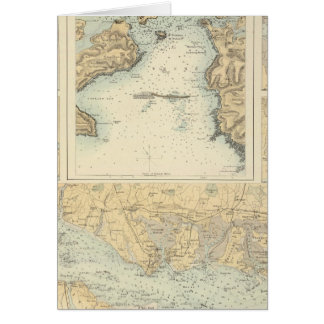 Ports and Harbours on the South Coast of England Card