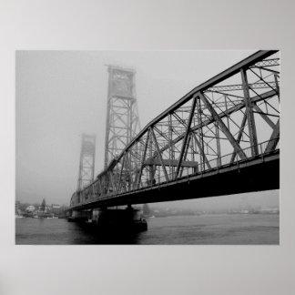 Portsmouth Bridge Poster