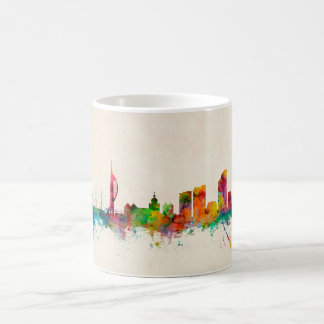 Portsmouth England Skyline Coffee Mug