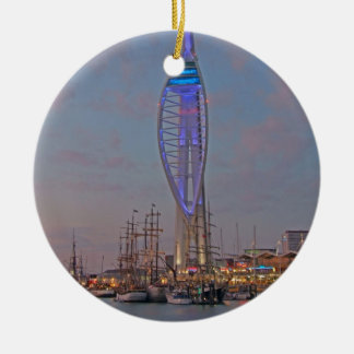 Portsmouth, Hampshire, England Christmas Ornament