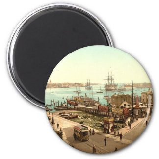 Portsmouth Harbour, Hampshire, England Magnet