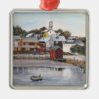 Portsmouth Harbour, New Hampshire Christmas Ornament