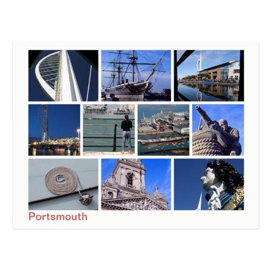 Portsmouth multi-image postcard
