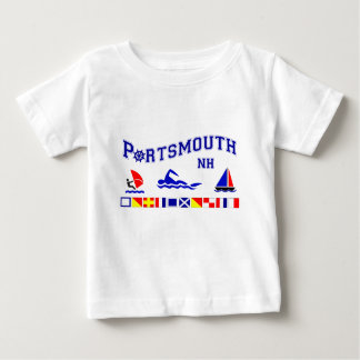 Portsmouth, NH Baby T-Shirt