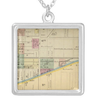 Portsmouth, Ohio Silver Plated Necklace