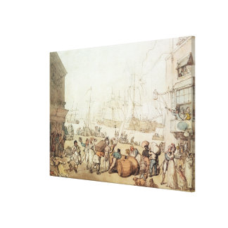 Portsmouth Point, 1811 Canvas Print
