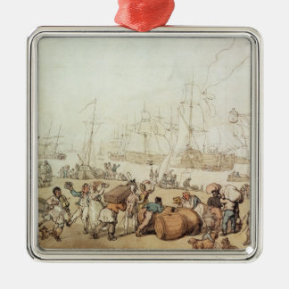 Portsmouth Point, 1811 Christmas Ornament