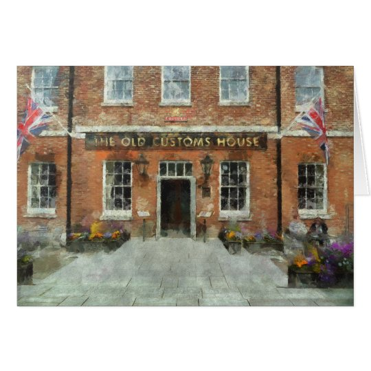 Portsmouth, UK British Pub and Inn Art Card