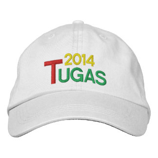 PORTUGAL 2014 TUGAS HAT / Chapeu Tugas Embroidered Cap