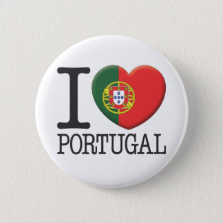 Portugal 6 Cm Round Badge