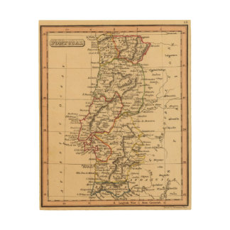 Portugal 7 wood print
