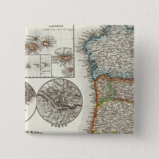 Portugal and Cape Verde Islands 15 Cm Square Badge