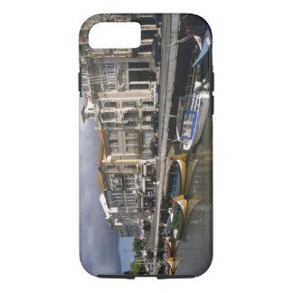 Portugal, Aveiro. Moliceiros (seaweed collecting iPhone 7 Case
