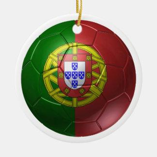 Portugal ball christmas ornament
