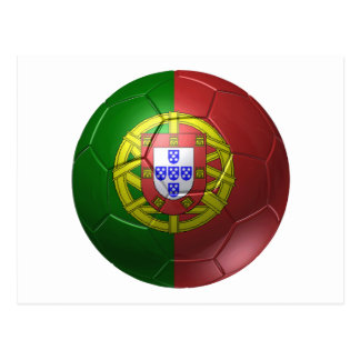 Portugal ball postcard