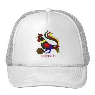 Portugal barcelos galo jogador de futebol hats