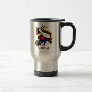 """Portugal barcelos """"galo"""" jogador de futebol mug"""