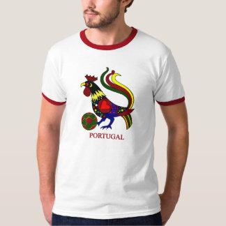 """Portugal barcelos """"galo"""" jogador de futebol T-Shirt"""