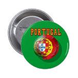 """Portugal"" Bola por Portugueses Buttons"