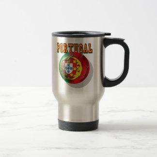 """Portugal"" Bola por Portugueses Coffee Mug"