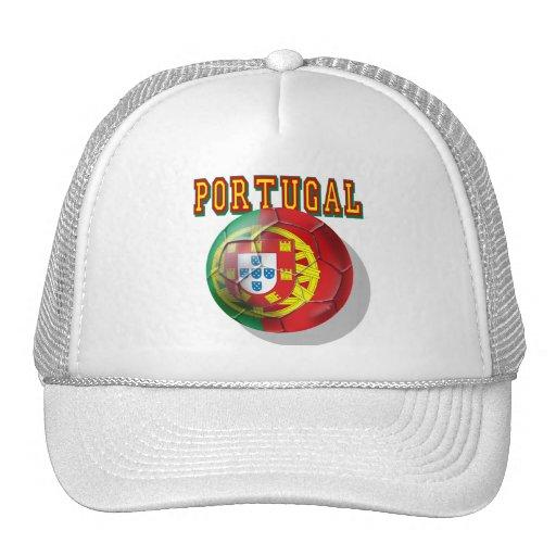 """Portugal"" Bola por Portugueses Trucker Hats"