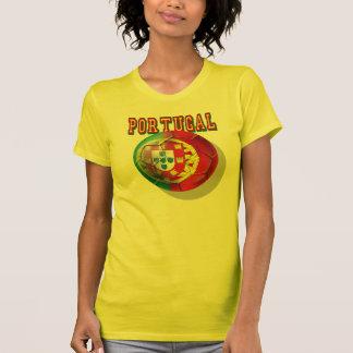 """Portugal"" Bola por Portugueses T-shirts"