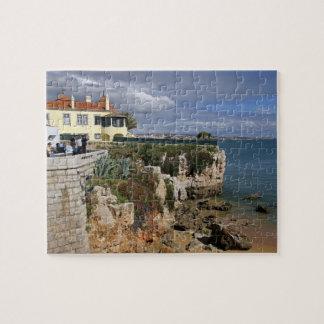 Portugal, Cascais. Praia da Rainha, a beach in 2 Jigsaw Puzzle