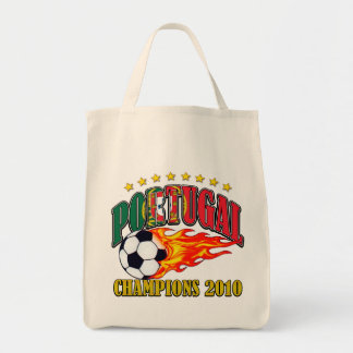 Portugal Champions Grocery Tote Bag