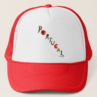 Portugal Chili Peppers Trucker Hat