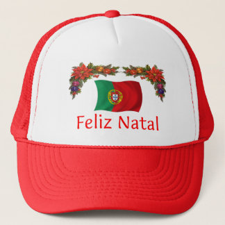 Portugal Christmas Trucker Hat