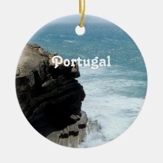 Portugal Coast Christmas Ornament