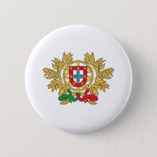 Portugal Coat Of Arms 6 Cm Round Badge