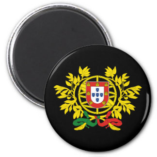 Portugal Coat of Arms 6 Cm Round Magnet