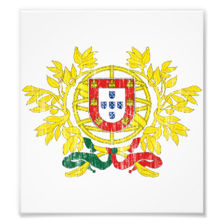Portugal Coat Of Arms Photographic Print