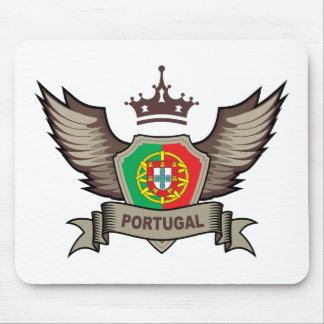 Portugal Emblem Mouse Mat