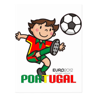 Portugal - Euro 2012 Postcard