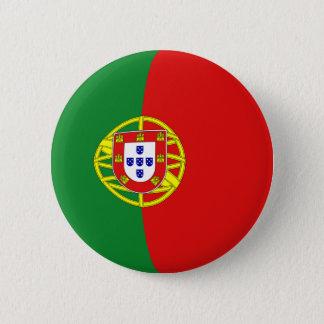 Portugal Fisheye Flag Button