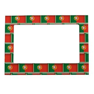 Portugal flag 3D pattern Photo Frame Magnets