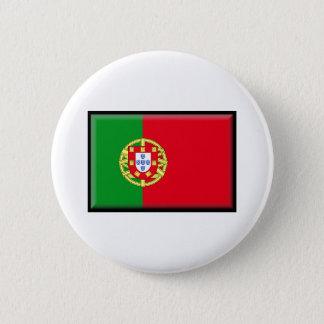 Portugal Flag 6 Cm Round Badge