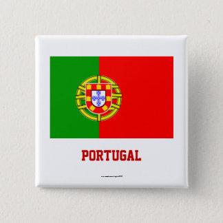 Portugal Flag Button/Lapel Pin