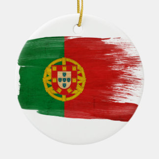 Portugal Flag Christmas Ornament