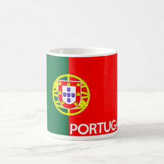portugal flag country text name coffee mug