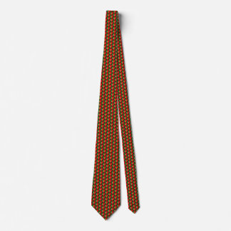 Portugal Flag Hearts Tie