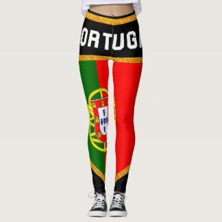 Portugal Flag Leggings